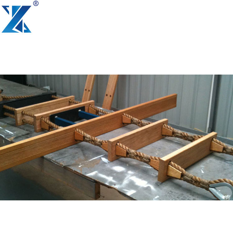 Solas Approved Marine Pilot Rope Ladder,Easy Handling Emergency Rope Ladder