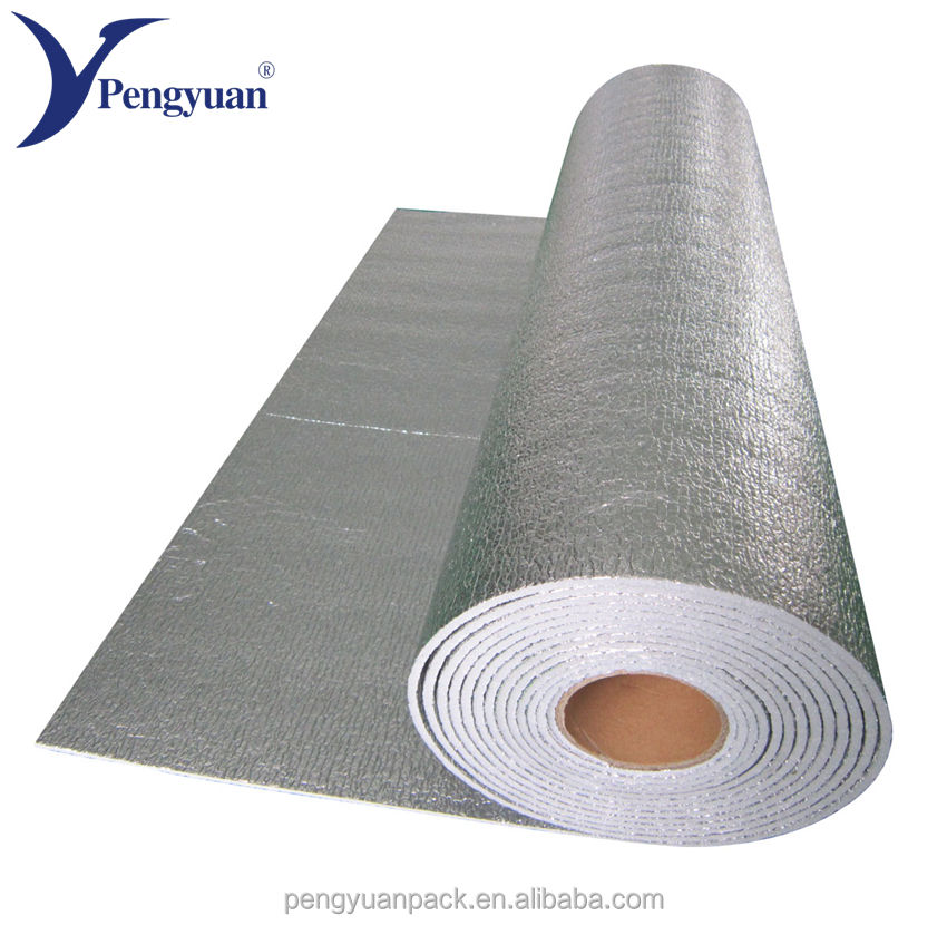 Aluminum foil polyethylene PE foam thermal insulation material roll