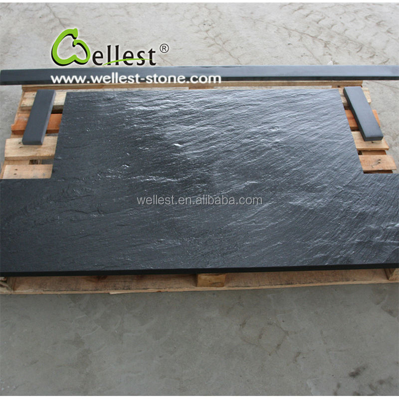 natural stone granite fireplace hearth, Slate Fireplace Hearth slabs