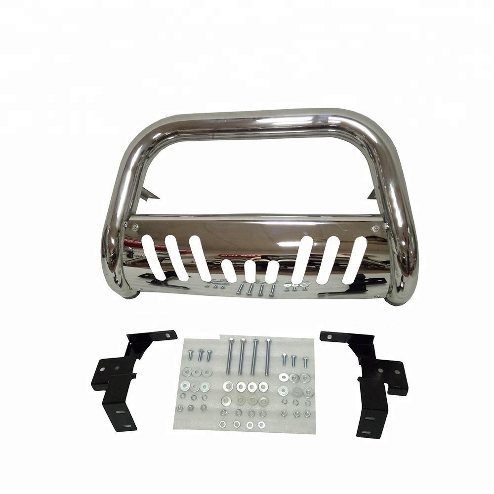 Spec-D Tuning SSB3-WRG074BK-WB Jeep Wrangler 4Dr Black 3 Side Step Nerf Bars Running Board