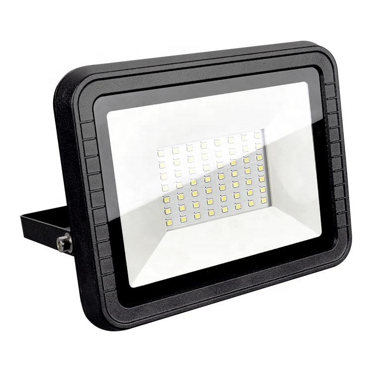 Ispot Aluminum Body 10W 20W 30W 50W Flood LED Light, Garden IP65 SMD Flood Light, Slim 100W LED Flood Light Outdoor