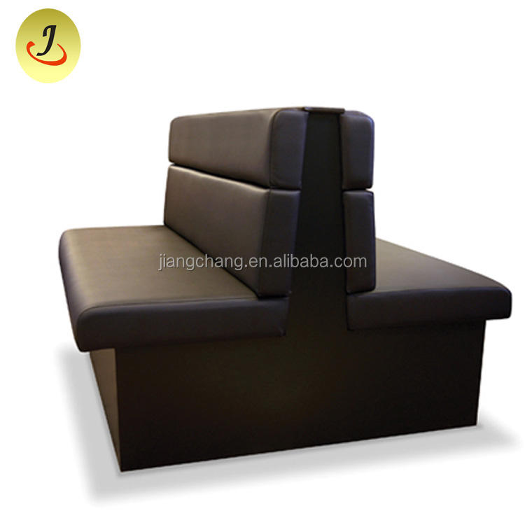 Modern Design Restaurant Booth Seating Double Sided Sofa For Sale JC-J01
