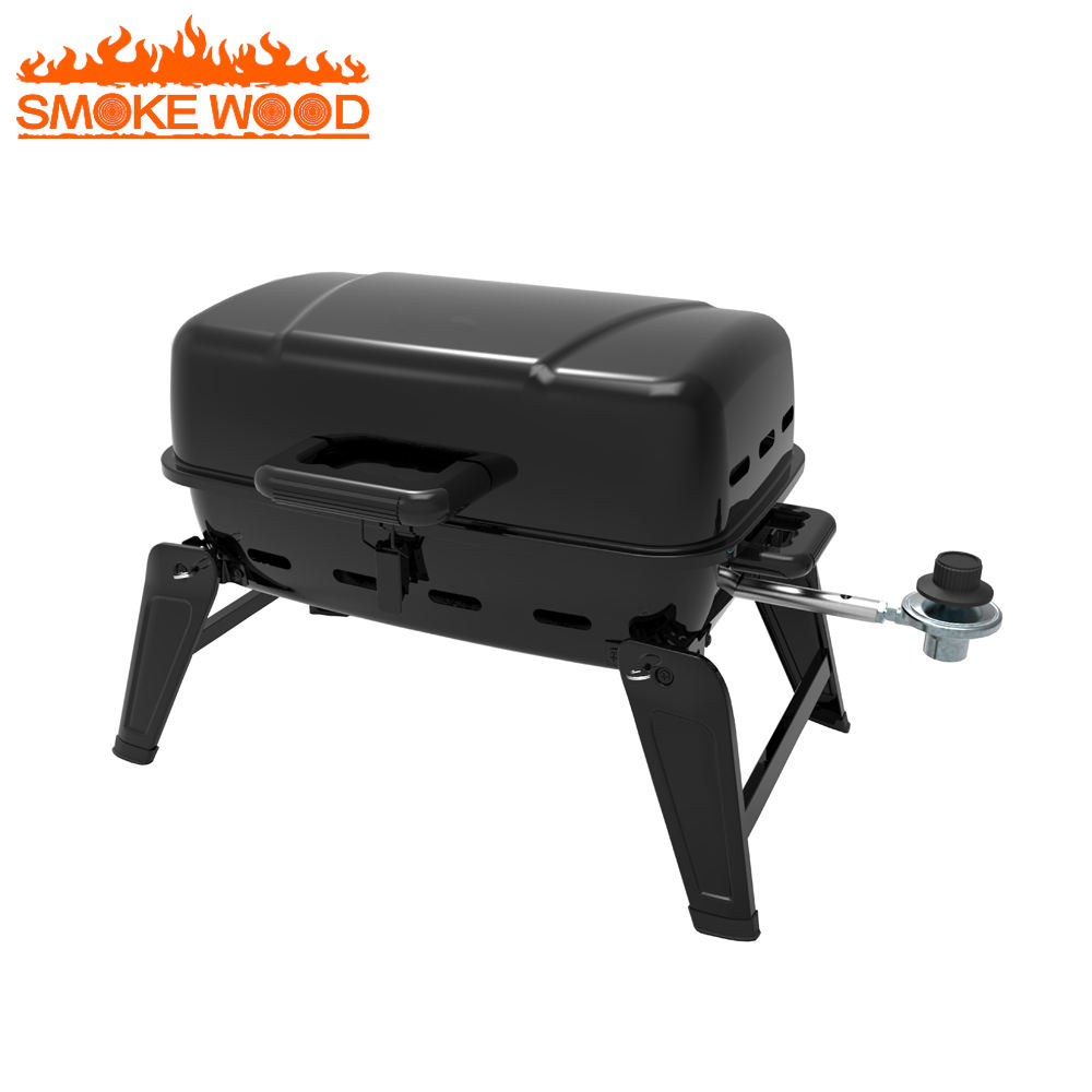 17.5 Inch Tabletop Portable Gas bbq barbecue Grill