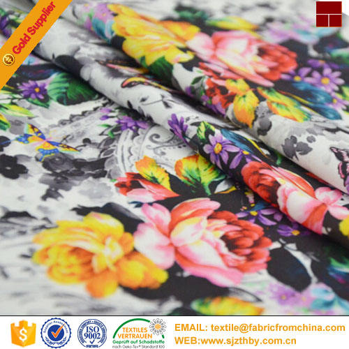 100% cotton reactive digital printing on wide width fabric
