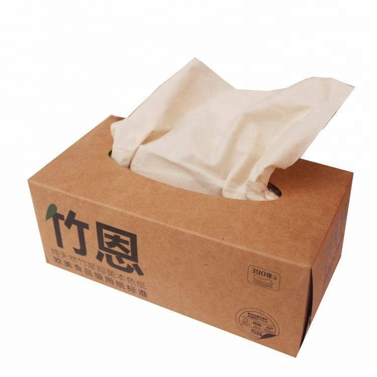 hot sale OEM customized logo package box facial tissue paper