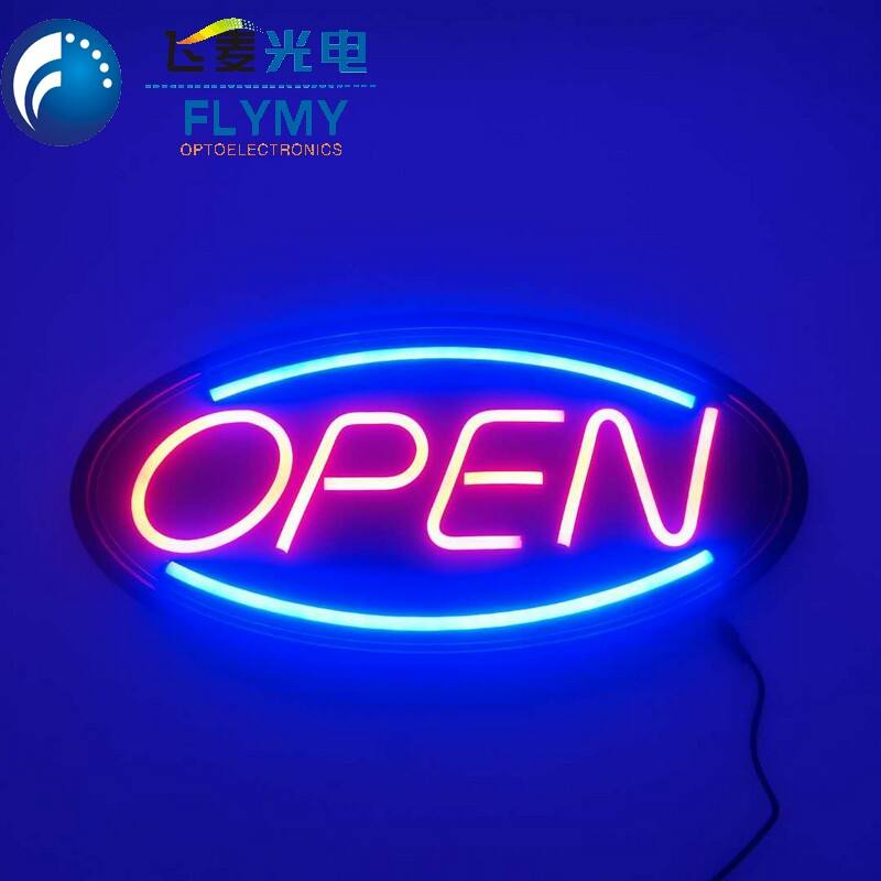 Animated LED NEON Motion Flash Open Business Sign
