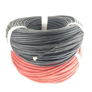 China Factory and free sample Insulated Copper Conductor Cable waterproof electrical 8awg silicone wire