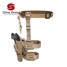 Xinxing Military Special Forces Quick Release Tactical Right Hand Holster Leg Belt Drop Leg Holster for Glock GH01
