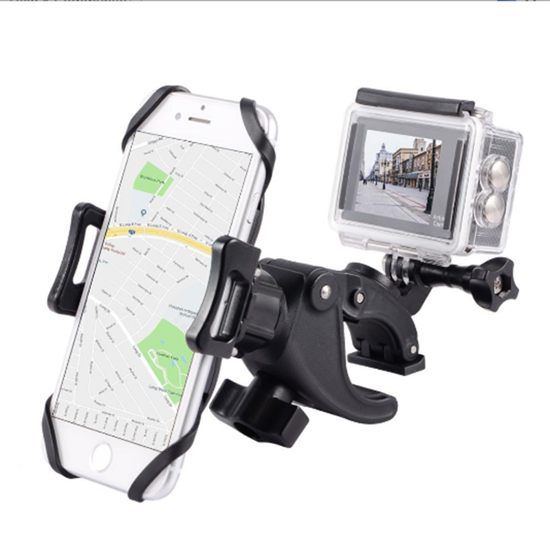 HOT Universal Bike Bicycle Motorcycle Handlebar Mount Holder Mobile Cell Phone Bike Holder For Phone With Silicone 2020 OBSHI