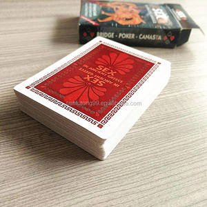 custom cheap sexy paper playing cards printing
