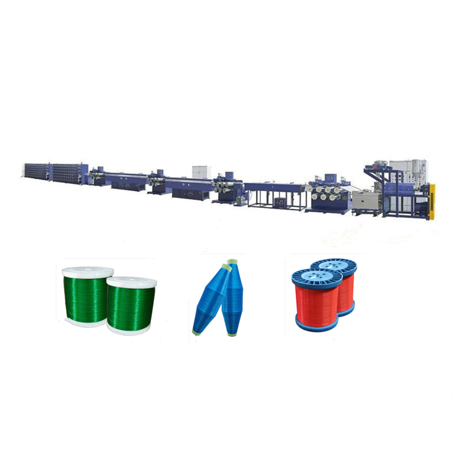 PP HDPE Nylon PET fishing net monofilament yarn extruding machine/ rope making production line/ extruder