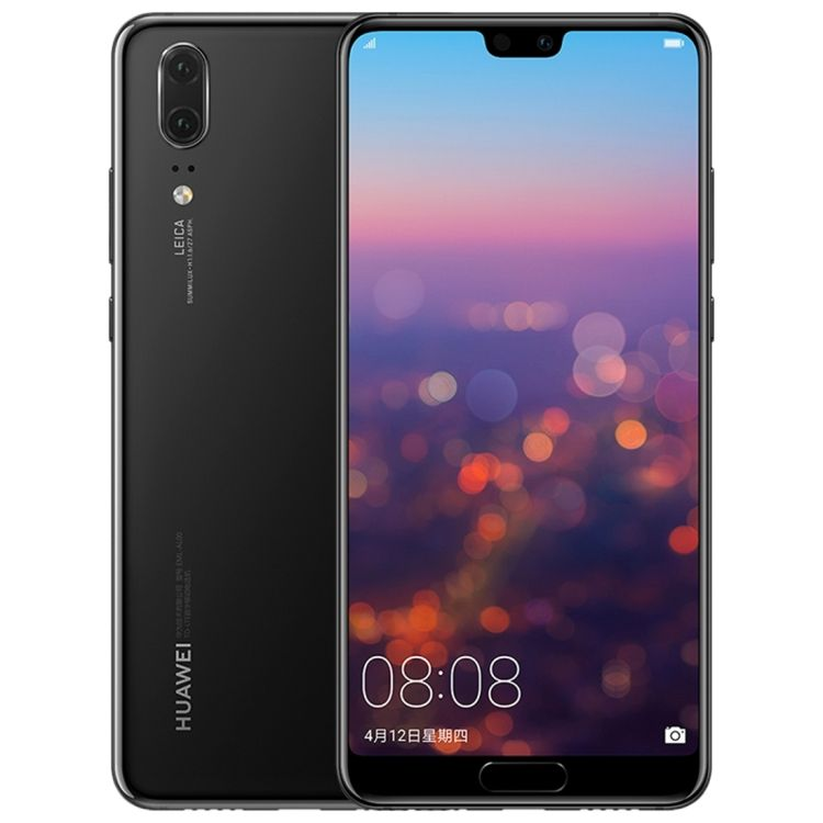 2018 date D'origine Huawei P20 6 GO 128 GO Android 8.1 Kirin 970 Octa Core huawei 4g smartphone pour iphone x mobile Débloqué