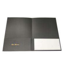Paper File Folder A4 Presentation folder with Two Pockets and Name Card Holder for Office