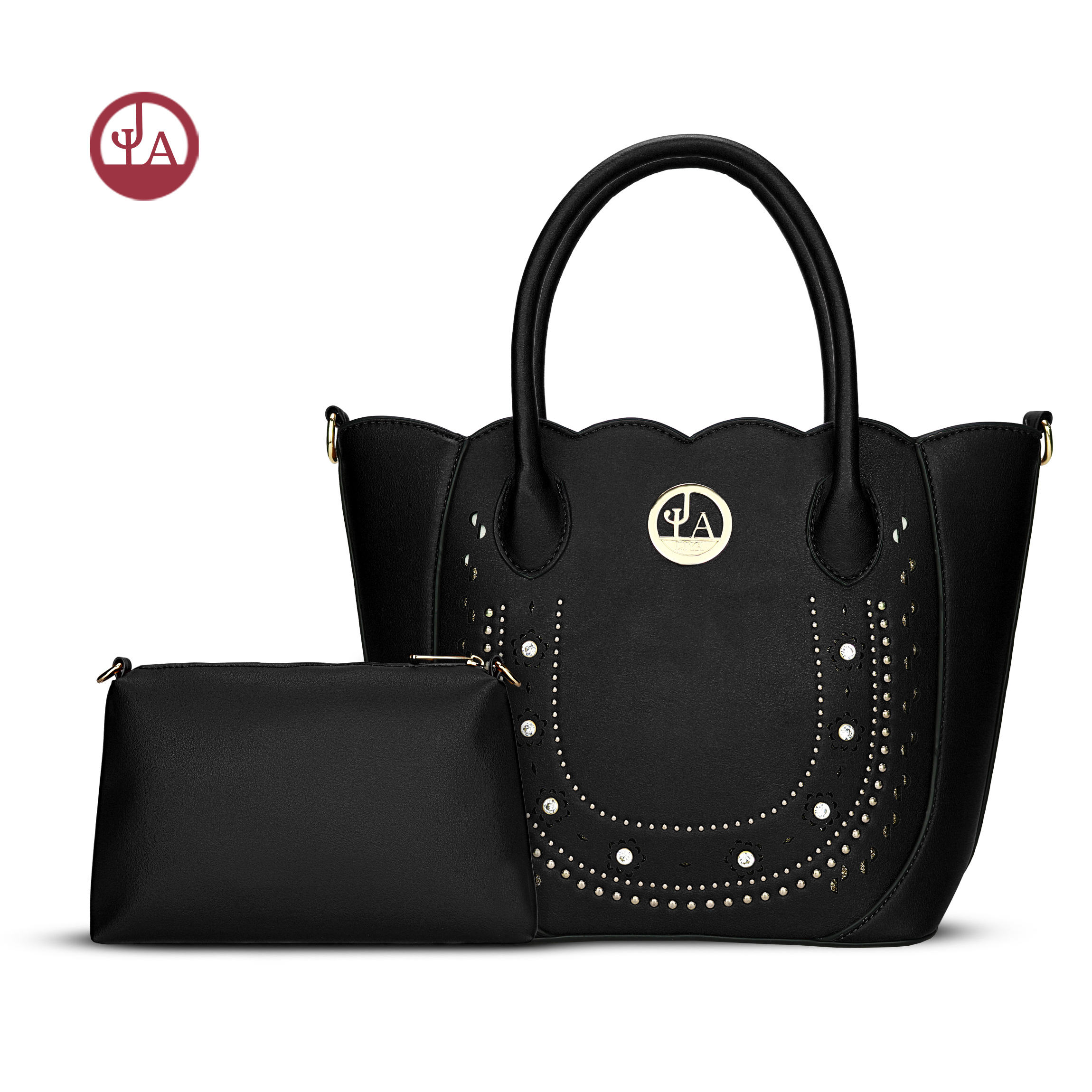 PM9 Different color in stock reasona from GuangZhou baiyun market reasonable price 2 in1 handbags for women