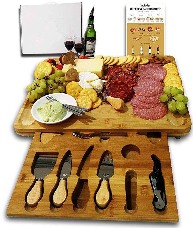Wholesale Extra Large Charcuterie Bamboo Wooden Cheese Board