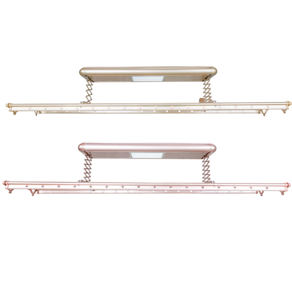 Automatic Lifting Ceiling Mounted Clothes Drying Rack Electric Clothes Hanger Malaysia