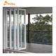 Entrance vinyl/pvc/upvc folding/Bifold doors for from China