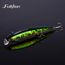 Fulljon Hard Minnow Aritificial Laser Reflective Fishing Tackle Fishing Lures Wobblers