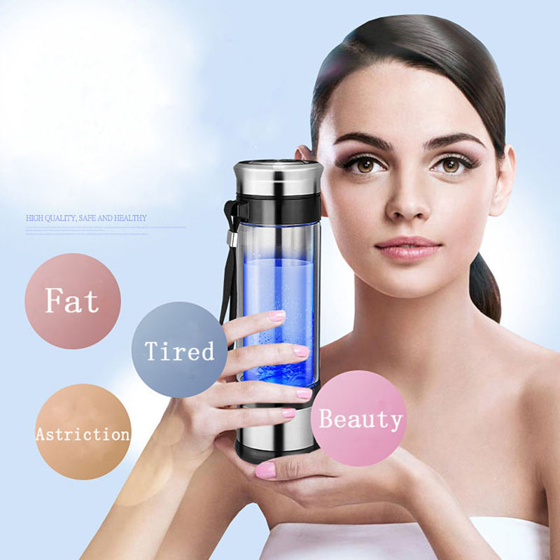 New technology Ionizing Water Filter pure hydrogen water bottle for office
