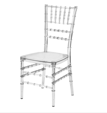 acrylic banquet chiavari chair for wedding