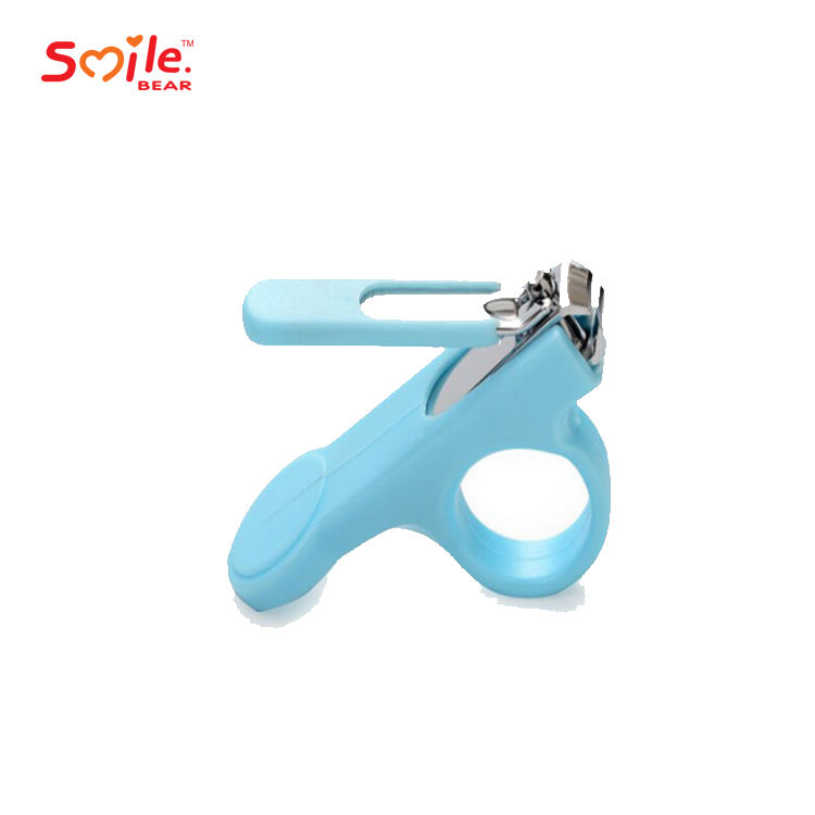 Wholesale stainless steel plastic safe baby nail clipper