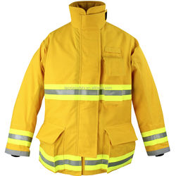 NFPA 1971 fire suit UL certified