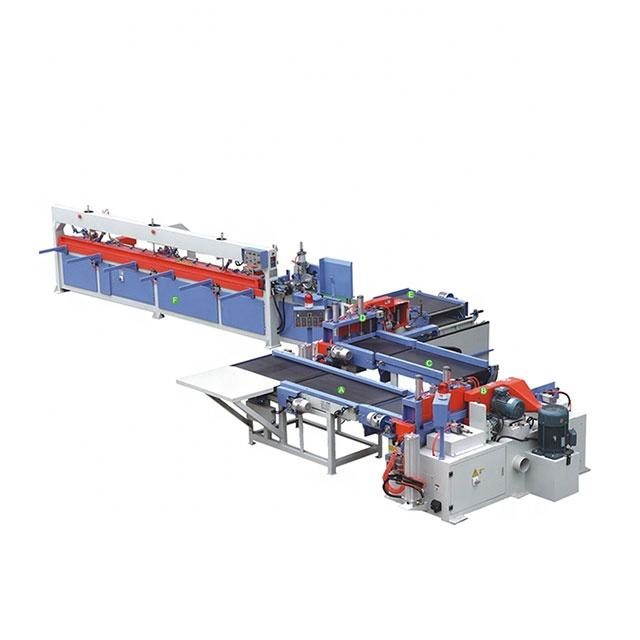 Woodworking semi-auto comb finger jointing machine production line