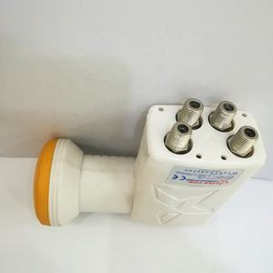 Manufacture quad ku band lnb lnbf with satellite dish