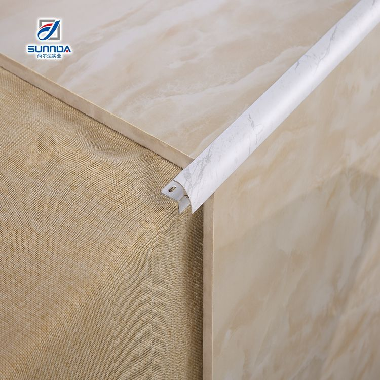 good quantity round cap edge travertine white marble wall and floor ceramics bullnose countertop tile trim for tile backsplas
