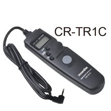 Commlite Timer Remote CR-TR1C Shutter Control Release for Canon 60D/1000D/550D,etc.