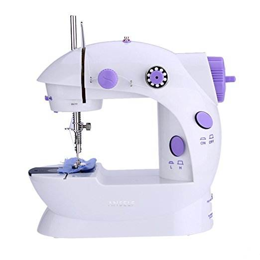 Zogift Yiwu 2020 Electric Mini Portable Handheld Domestic button sewing machine industrial
