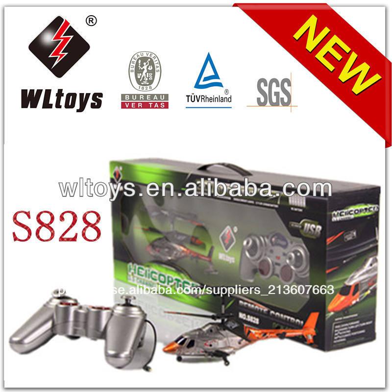 Wl brinquedos 3.5 canais mini controle infravermelho black eagle rc helicóptero