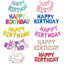 Happy Birthday Balloons Happy Birthday Foil Letters Banner Balloons for Birthday Party Decoration