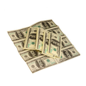 Custom high quality fake paper napkins for printing fake money for party