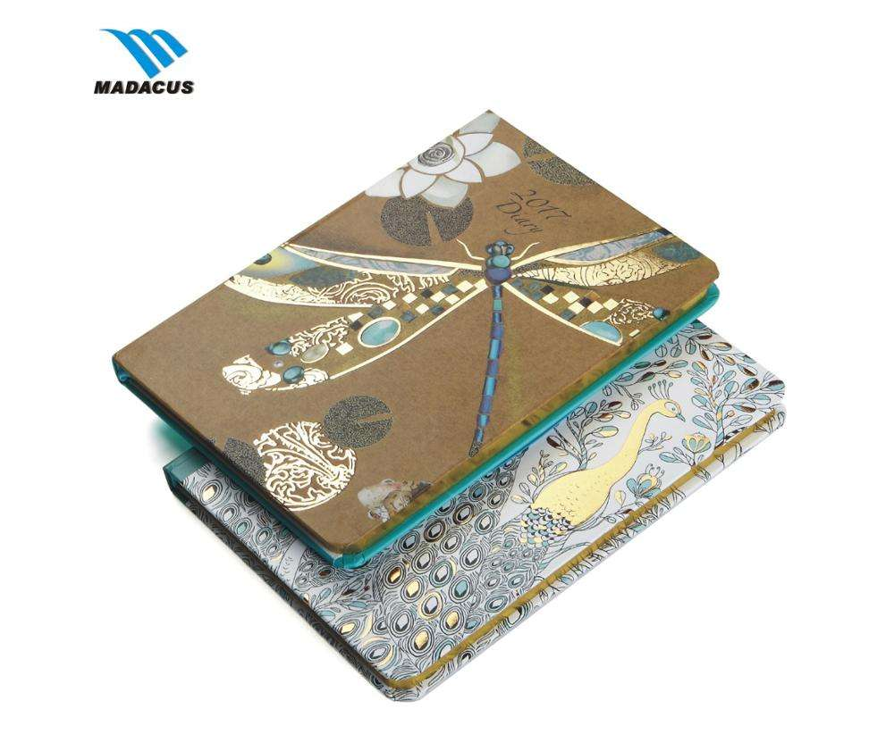 Hot sale weekly notebook and diary planner custom diary printing