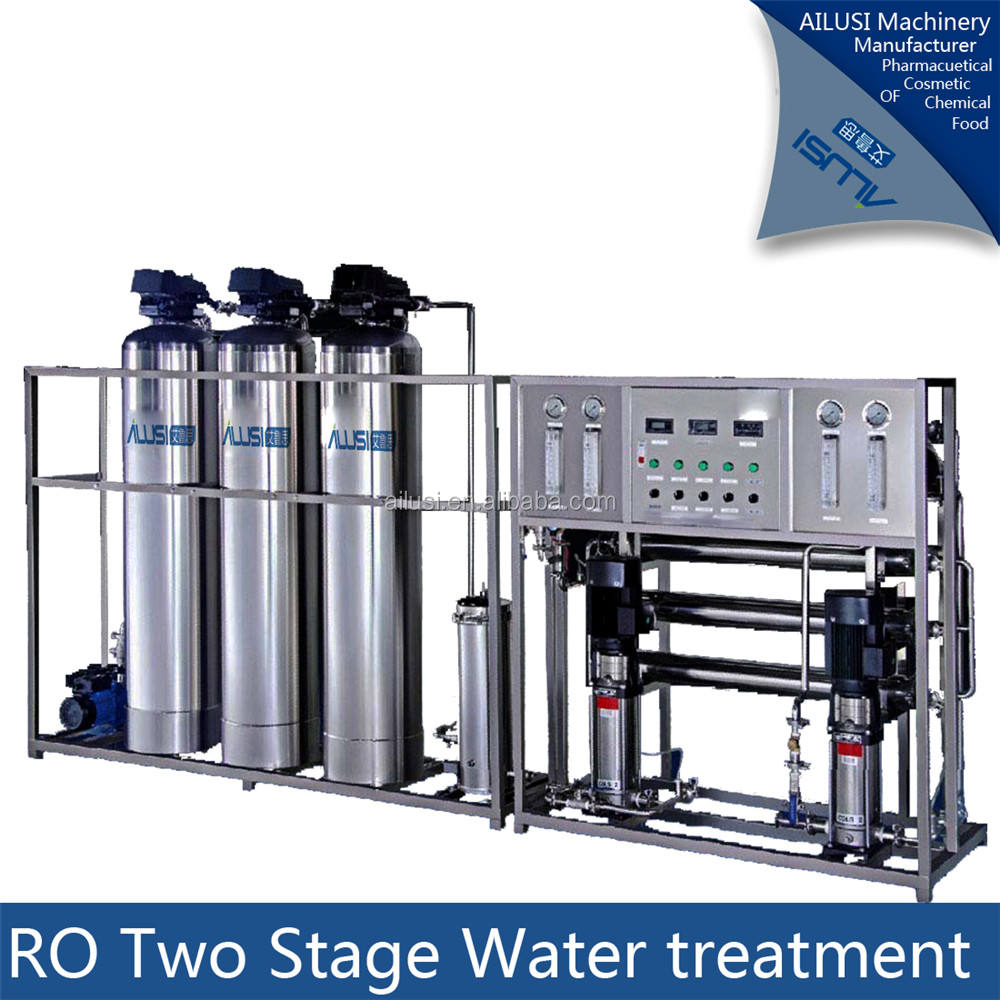 China Most Popular underground Water treatment / industrial Reverse Osmosis System / RO water purification equipment reverse