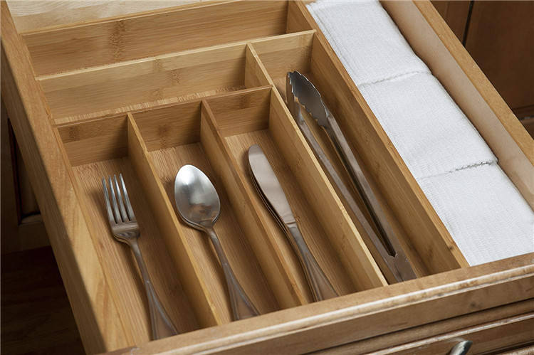 Factory Bamboo Drawer Organizer For Large Drawers With Cheap Price