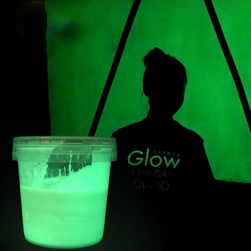 Cost-effective luminous road paint glow in dark paint wall paint