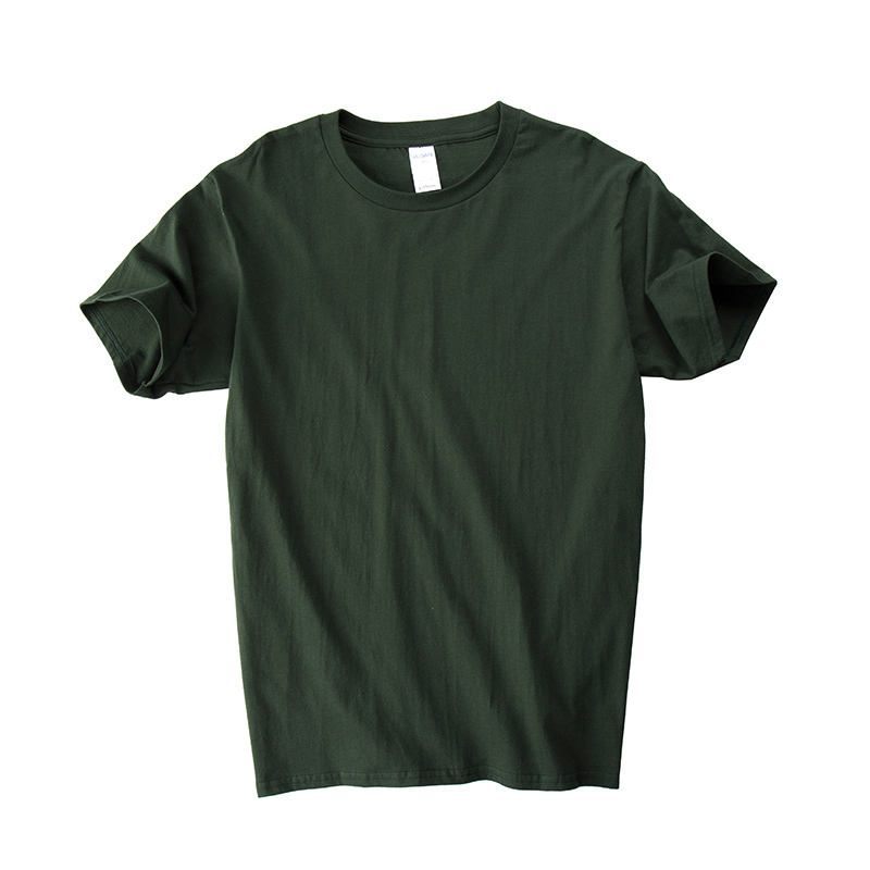 Mens boxy fit vintage cotton t shirt oem army green t shirt,hip hop t-shirt men,personalized oversize t-shirt homme for men