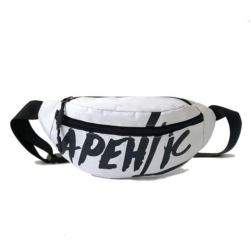Wholesale fashion travel custom print fanny pack waist bum bag