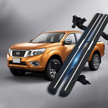 waterproof and auto Side Step  Powerstep Power  Electric Running Board for Nissan Navara  X-Trail Murano Pathfinder Terra