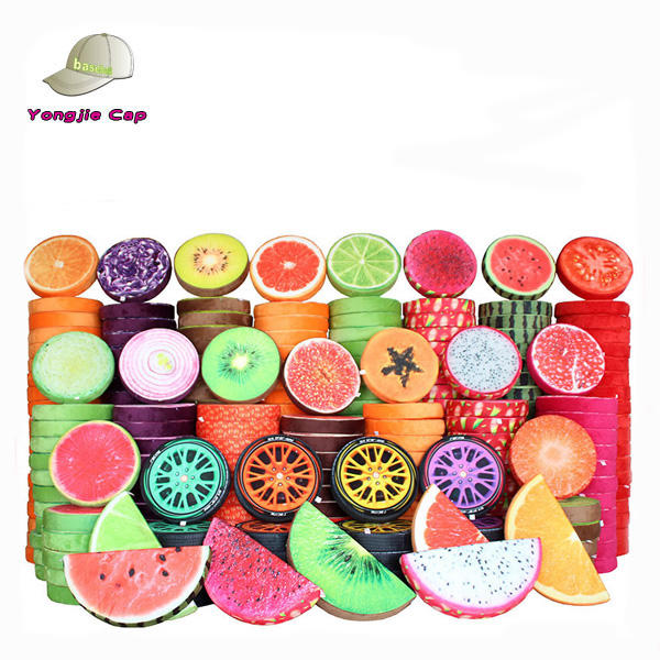 Promotion peach cushion covers fruit shape floor round cushion