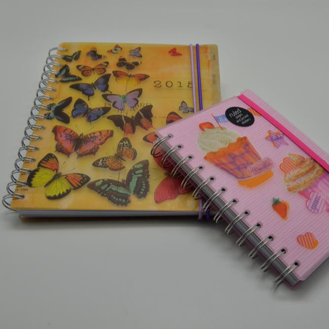 wholesale hardcover paper spiral filler notebook