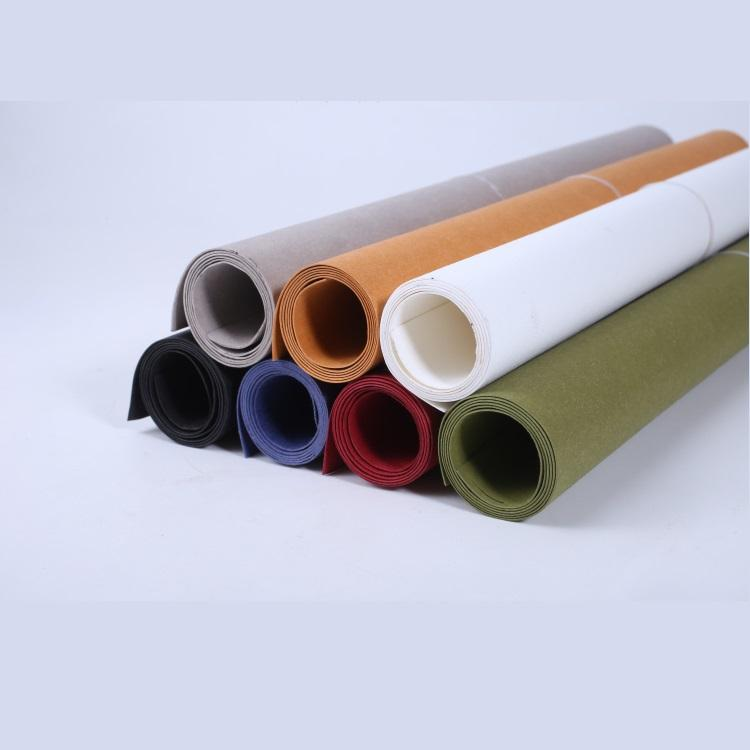 Wholesale High Quality Colorful Environmental Protection Washable Kraft Paper Fabric