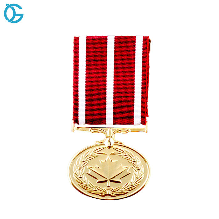 Canada Custom Award Ceremony Honor Medaille