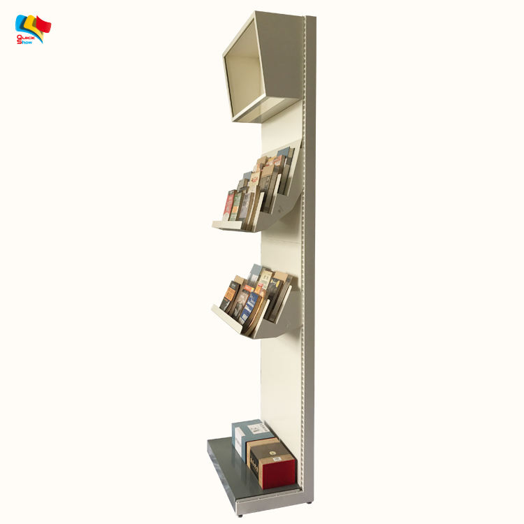 Convenienza negozio isola metallo department store display rack