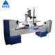 High quality custom 380/220v woodworking small cnc turning carving lathe for wood working use