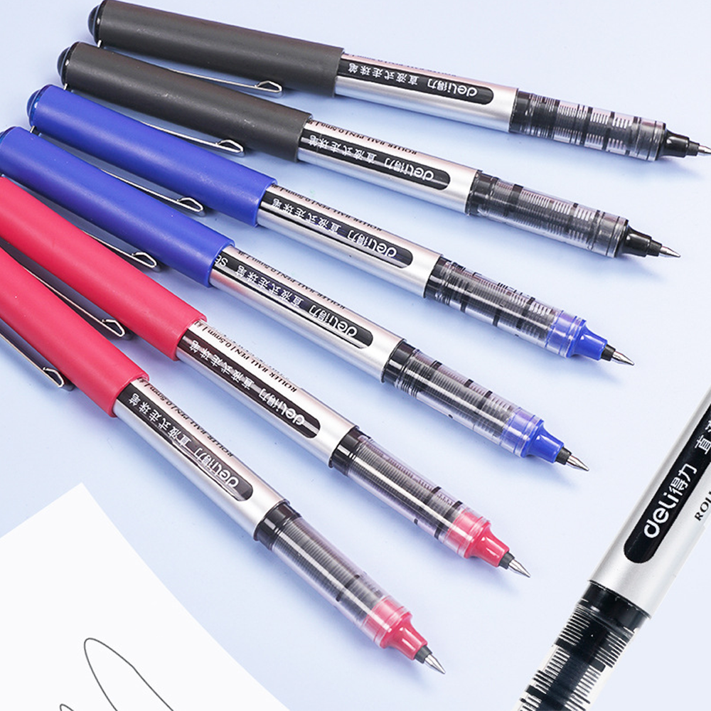 The tattoo Gel Ink Pen Direct Liquid Type Walks The Bead Roller Tip Pens For Financial Staff Use Plastic Pen