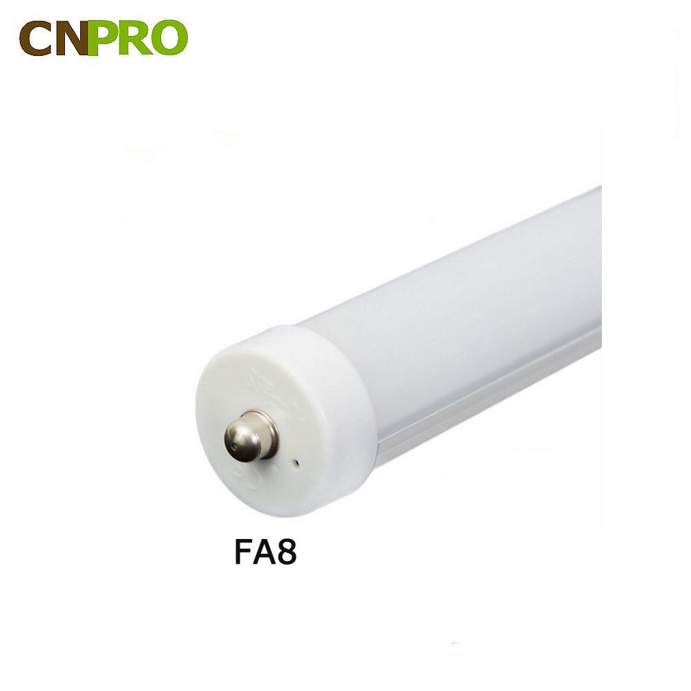 most popular North American high efficiency G13 R17D FA8 T8 LED tube light DLC ETL UL certification