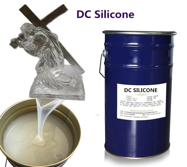 Factory Supplying low viscosity rtv-2 liquid silicone rubber low shrinkage silicone liquid silicone factory price
